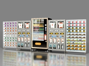 Do touch screens have many vending machines